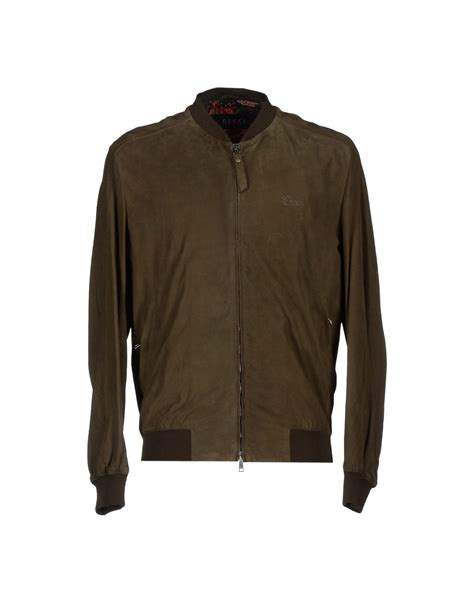 Jaket Fashion Gucci 5 gucci jacket in green for lyst