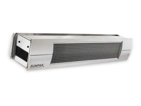 Sunpak Patio Heaters Sunpak S34 Tsr Dual Stage Remote Infrared Heater S34tsr