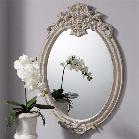 Cermin Oval cermin jepara shabby