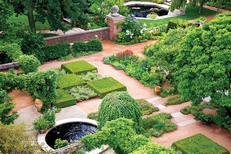 For The Ages The English Walled Garden My Chicago The Walled Gardens