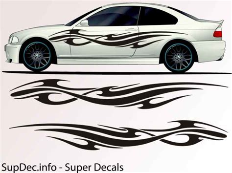 Auto Body Decals by Vinyl Auto Body Graphics Exterior Outside Decal Sticker B749