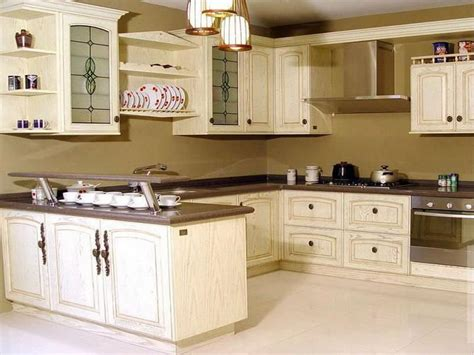 antique painted kitchen cabinets creating a unique kitchen look with antique white kitchen