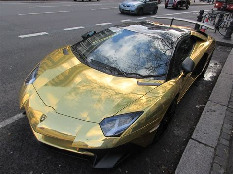 gold convertible lamborghini chrome gold lamborghini aventador lp750 4 super veloce