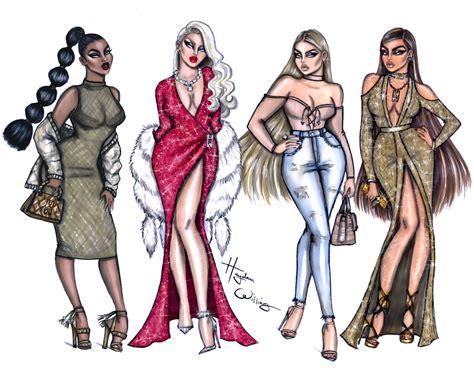 fashion illustration measurements hayden williams fashion illustrations
