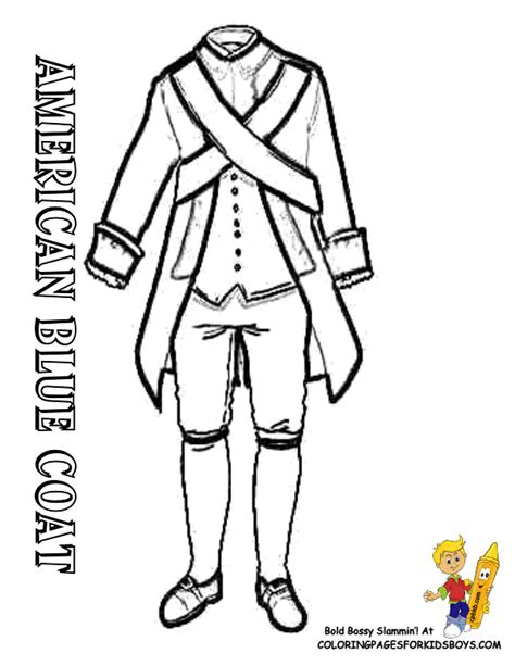 Revolutionary War Soldier Coloring Page Coloring Home Revolutionary War Coloring Pages