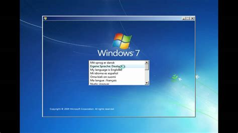 video tutorial instal windows 7 ultimate installing windows 7 ultimate youtube