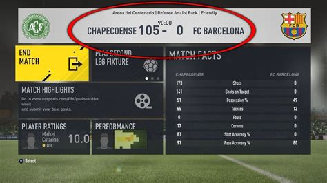 fifa result what happens when you score 100 goals in 1 fifa 17