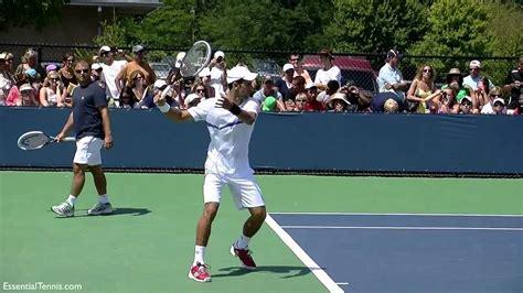 tennis swing analysis novak djokovic forehand in slow motion hd youtube