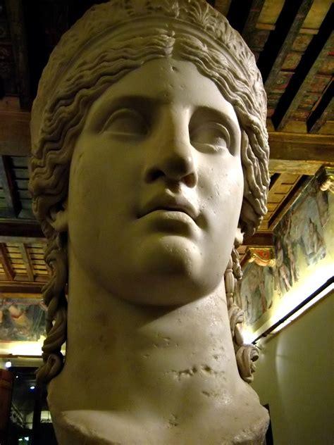 juno ludovisi  colossal head   admired  goeth flickr