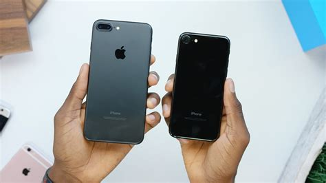 iphone jet black iphone 7 unboxing jet black vs matte black