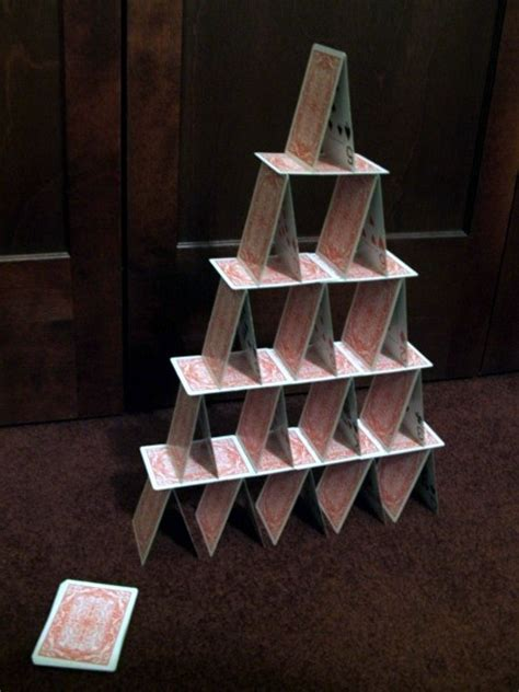 how to make card tower 8 best images about card towers on image