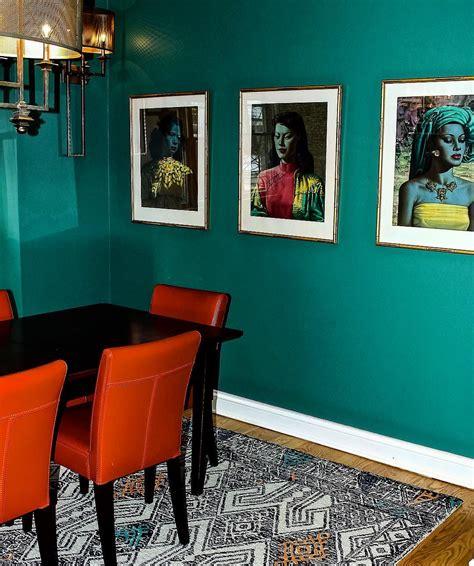 benjamin moore steamed spinach dining room walls