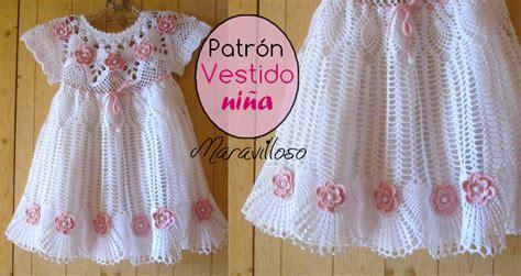 como tejer a crochet vestido para nia 12 youtube como tejer un precioso vestido para ni 241 as a crochet
