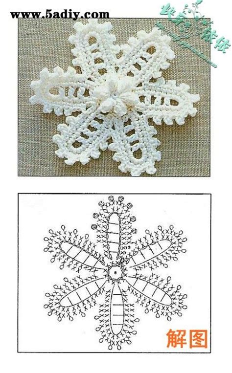 gambar tutorial rajut rajut handmade share pola aneka pola bunga rajut