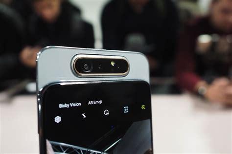 Samsung Galaxy A80 Uae by Samsung S Galaxy A80 Has A Rotating And No Notch