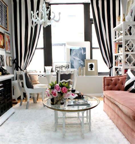 black and white striped drapes design ideas decorating with bold black and white stripes ideas