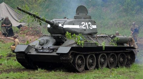 The Soviet T-34: The Lethal Tank that Won World War II ... T 34 American