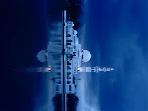 wallpaper senja biru masjid terapung kuala ibai by schumeyll on deviantart
