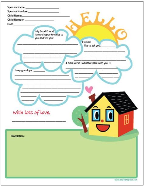 Pin By Compassion International On Letter Writing Ideas Pinterest Compassion Letter Writing Template