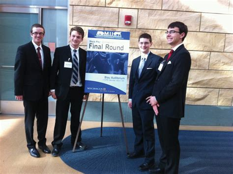 Miis Mba Ranking by Olin Student Team Advances In Investment Competition