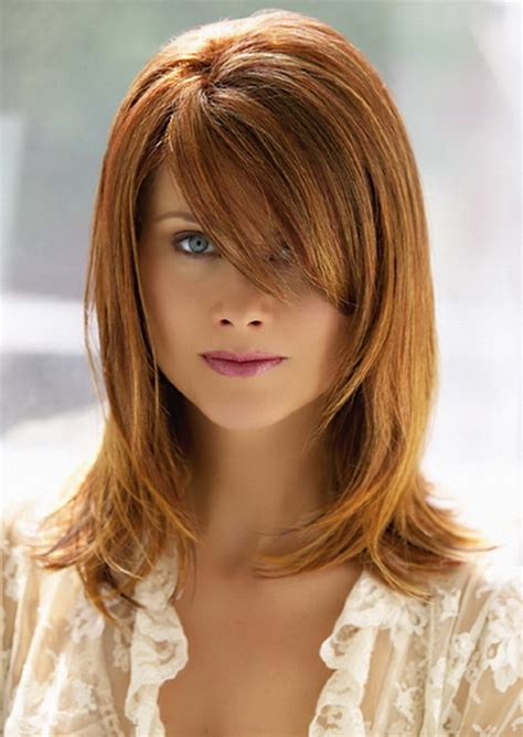 how to get the perfect haircut longer sides shorter back cute medium length haircuts with bangs