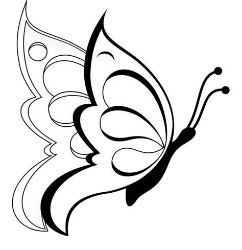 imagenes bonitas para dibujar faciles de mariposas mariposas volando para colorear y dibujar