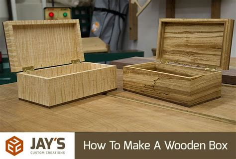 ideas  wooden box plans  pinterest