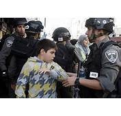 Israeli Police Detain Two Palestinian Children In East