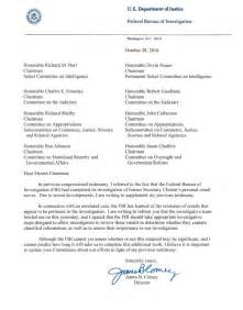 letter to congressman template is fbi director comey s blatant election interference