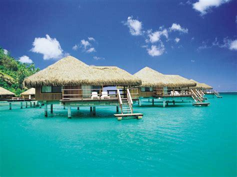 overwater bungalows punta cana bora bora
