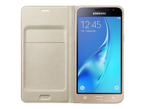 Samsung J3 Secen galaxy j3 wallet flip cover gold mobile accessories ef wj320pfegus samsung us