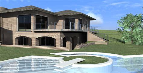 Progetto Villa Con Piscina by Progetto Villa Progetto Idea Progetto 3d Dettagli