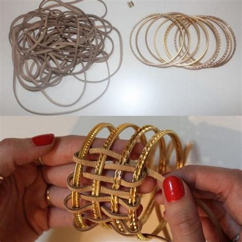 como hacer brazaletes de cuero recicla brazaletes pulseras cuero ideas diy