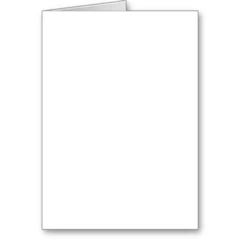 Blank Greeting Cards White Gold Blank Birthday Card Template 2