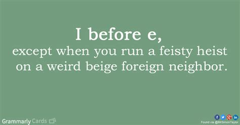 I C E i before e except after c grammarly