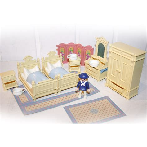 chambre des parents playmobil chambre 1900 des parents beige play original