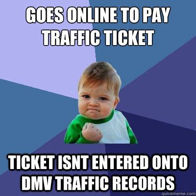 funny traffic tickets memes