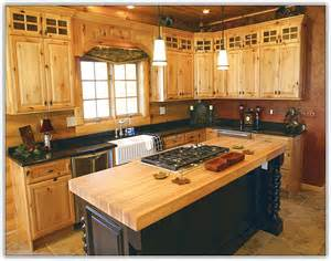 Stainless Steel Kitchen Islands Rustic Knotty Pine Kitchen Cabinets Home Design Ideas