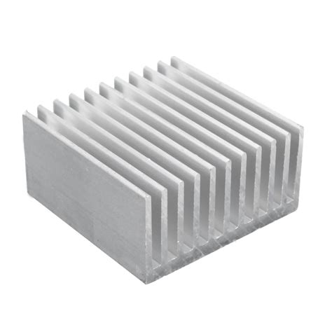 aluminum heat sink 40x40x20mm aluminum heat sink heatsink for cpu led power