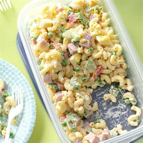 easy pasta salad recipes easy macaroni salad recipe taste of home