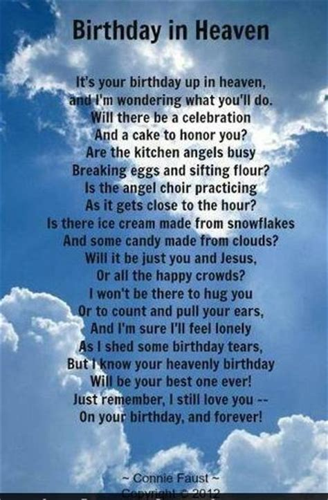 Birthday Quotes For In Heaven Birthday In Heaven Free Ecards Pinterest Happy