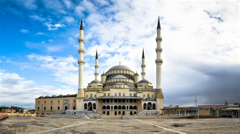 Kocatepe Mosque Ankara | kocatepe mosque mosque in ankara thousand wonders
