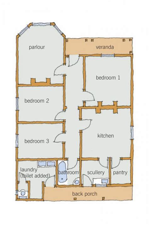 villa plan layout branz renovate