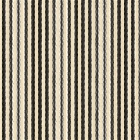 Ticking Upholstery Fabric by Black Ticking Stripe Woven Fabric Traditional