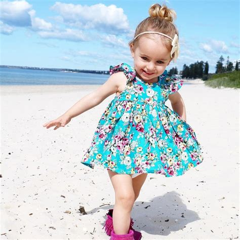 Dress Baby 3 In 1 summer toddler infant baby floral ruffle sundress dress briefs casual