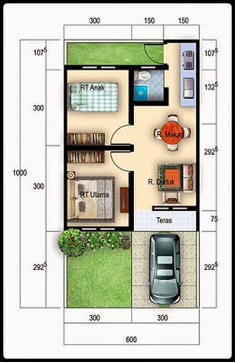 layout rumah type 36 72 contoh gambar desain rumah minimalis type 36 terbaru rumah