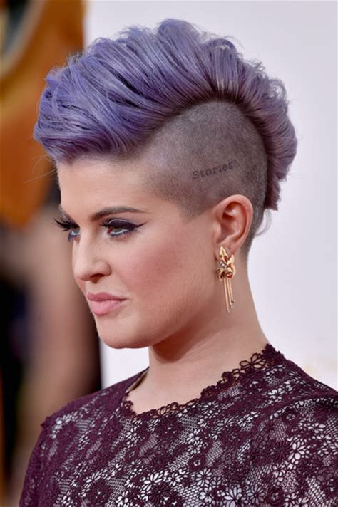 s curve hairstyle kelly osbourne purple mohawk