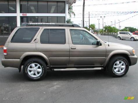 grey nissan pathfinder bronzed gray metallic 2002 nissan pathfinder se exterior
