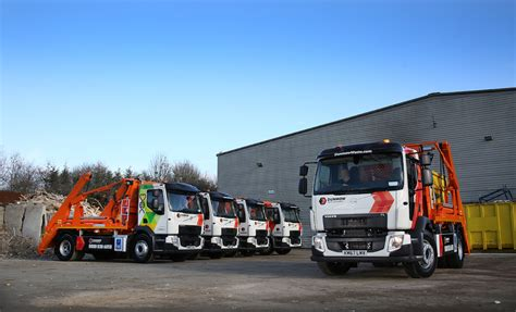 volvo trucks build and volvo trucks make a lasting impression at dunmow waste