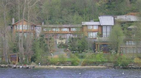 bill gates house inside pictures